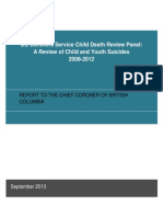 Death Review Panel 2008 2012