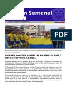 Boletin Semanal de la Embajada de Colombia en Belgica