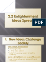 2.2 Enlightenment Ideas Spread