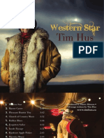 Tim Hus - Western Star [Liner Notes]