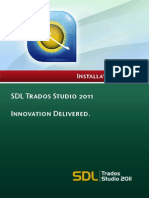 SDL Trados Studio 2011 SP2 Installation Guide
