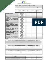 Ficha de auto-avaliação Área de Projecto