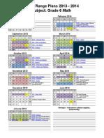 2013-2014 math 6 long range plans web