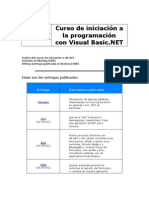 Curso De Iniciacion A La Programacion Con Visual Basic Net