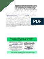 Neste trabalho os autores discutem a proposta atual de educação permanente do Ministério da Saúde