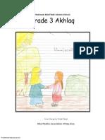 Madarsa AhleBait (a.s.) - Grade 3 - Akhlaq