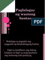 Filipino 1 Paglalagay Ng Wastong Bantas
