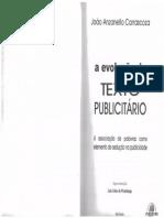 a evolução do texto publicitário