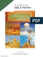 Madarsa AhleBait (a.s.) - Grade 3 - History