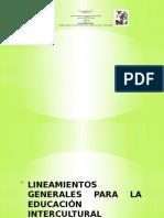 LINEAMIENTOS GENERALES PARA LA EDUCACIÓN INTERCULTURAL BILINGÜE1