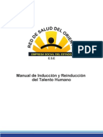 Manual de Induccion y Re-Induccion Del Talento Humano