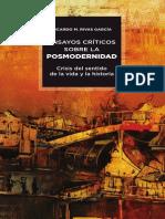 Libro Ensayos críticos sobrela posmodernidad (muestra)
