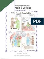 Madarsa AhleBait (a.s.) - Grade 5 - Akhlaq