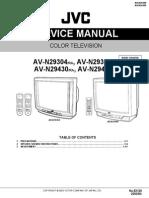 Jvc Av-n29304 Av-n29430 Chassis Fe2