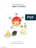 Madarsa AhleBait (a.s.) - Grade 6 - History