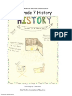 Madarsa AhleBait (a.s.) - Grade 7 - History