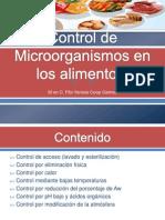 2. Control de Microorganismos en Los Alimentos