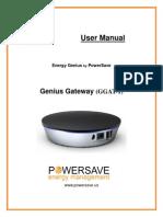 Energy Genius Gateway Manual