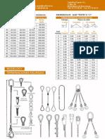 Catalogo Eslingas de Cable de Acero V1