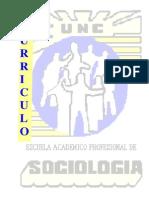 sociologia - curriculo