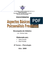 Aspectos Básicos del Psicoanálisis Freudiana