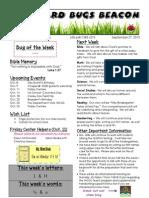 September 27 Newsletter