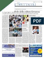 26.9.2013, 'Romagna Liberty. Viaggio in Un'Epoca d'Oro Di Ferrara', La Nuova Nazionale