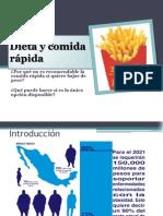 Dieta y Comida Rapida