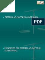 PRINCIPIOS (Sistema Acusatorio Adversal )