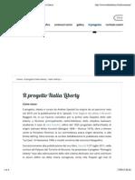 Il Progetto Italia Liberty - Italia Liberty | Italia Liberty