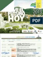 Agenda Smart City Expo Bogotá 2013