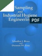 Air Sampling and Industrial Hygiene