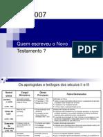 Os apologistas e teólogos dos séculos II off 97 impressão