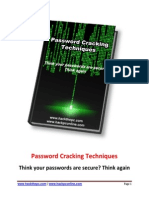 Password Cracking Techniques 2