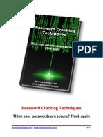 Password Cracking Techniques 2