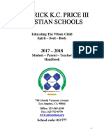 FKCP III Christian Schools Handbook