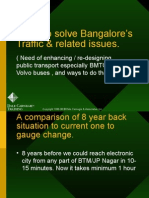 Bangalore Trafic - Solutions