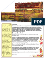 October 2013 FUMC Newsletter