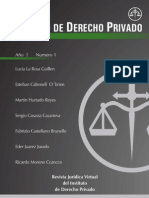 Revista Instituto de Derecho Privado 01 2013