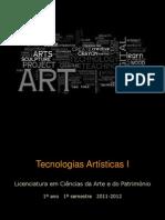 Tecnologías Artísticas 2013