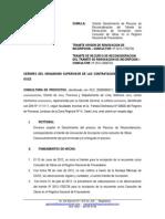 Desistimiento de Recurso de Reconsideracion OSCE