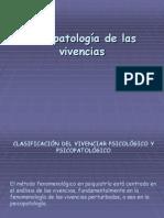 Psicopatología de las vivencias