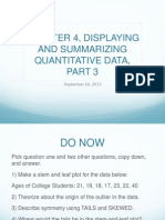 chapter 4 displaying and summarizing quantitative data part 3