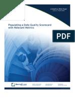 Populating a Data Quality Scorecard With Relevant Metrics