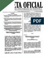 Ley de Emergencia Terrenos y Vivienda Gaceta6018