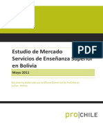 Estudio de Merc Bolivia 2011 PROCHILE