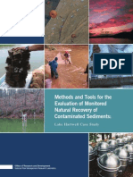 Manual Técnico - Methods and Tools for the Evaluation of Monitored Natural Recovery of Contaminated Sediments - Lake Hartwell Case Study