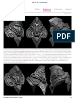 ZBrush Cheat Sheet | Scientific Modeling | Graphics