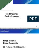 UP CFA 2013 I Fixed Income