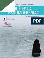 Que Es La Esquizofrenia Guia Para Pacientes y Familiares